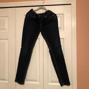 Silver Suki Mid Skinny Jeans Size W29/L31